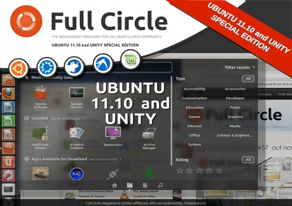 Ubuntu 11.10 and Unity Special Edition - cover